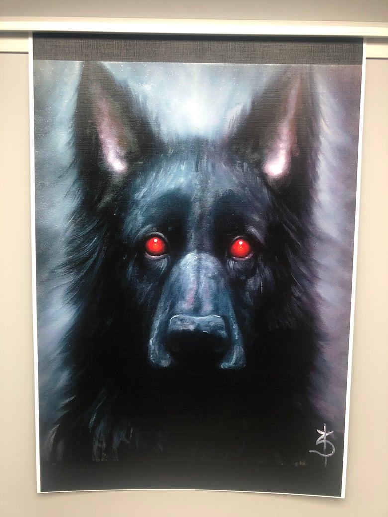 Image of Blood Hound ( Limited Print )