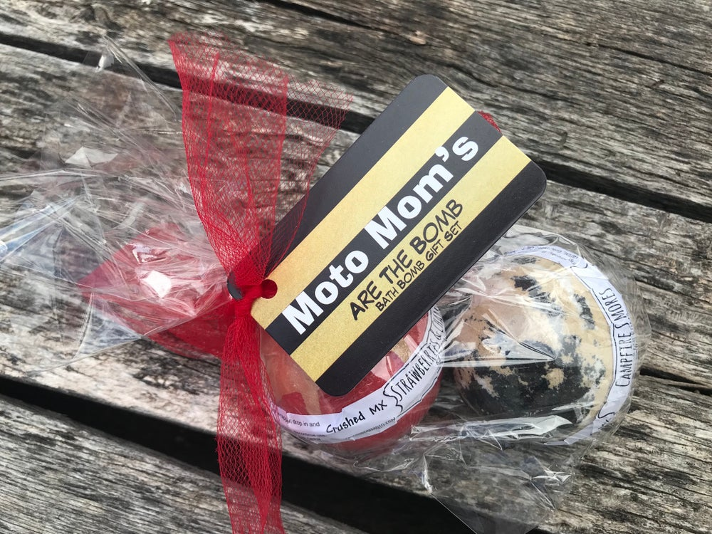 Image of Moto Mom's are the Bomb~Bath Bomb Gift Set