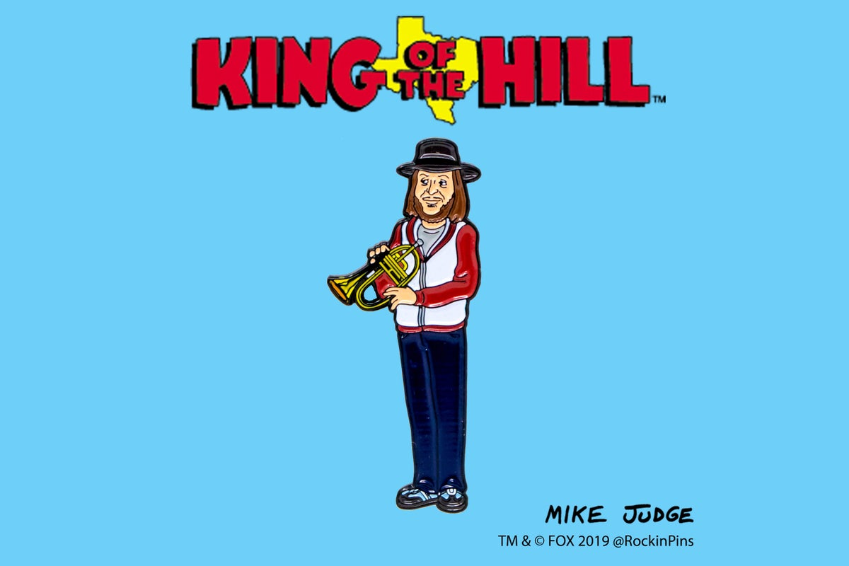 Image of King of the Hill - Chuck Mangione Enamel Pin