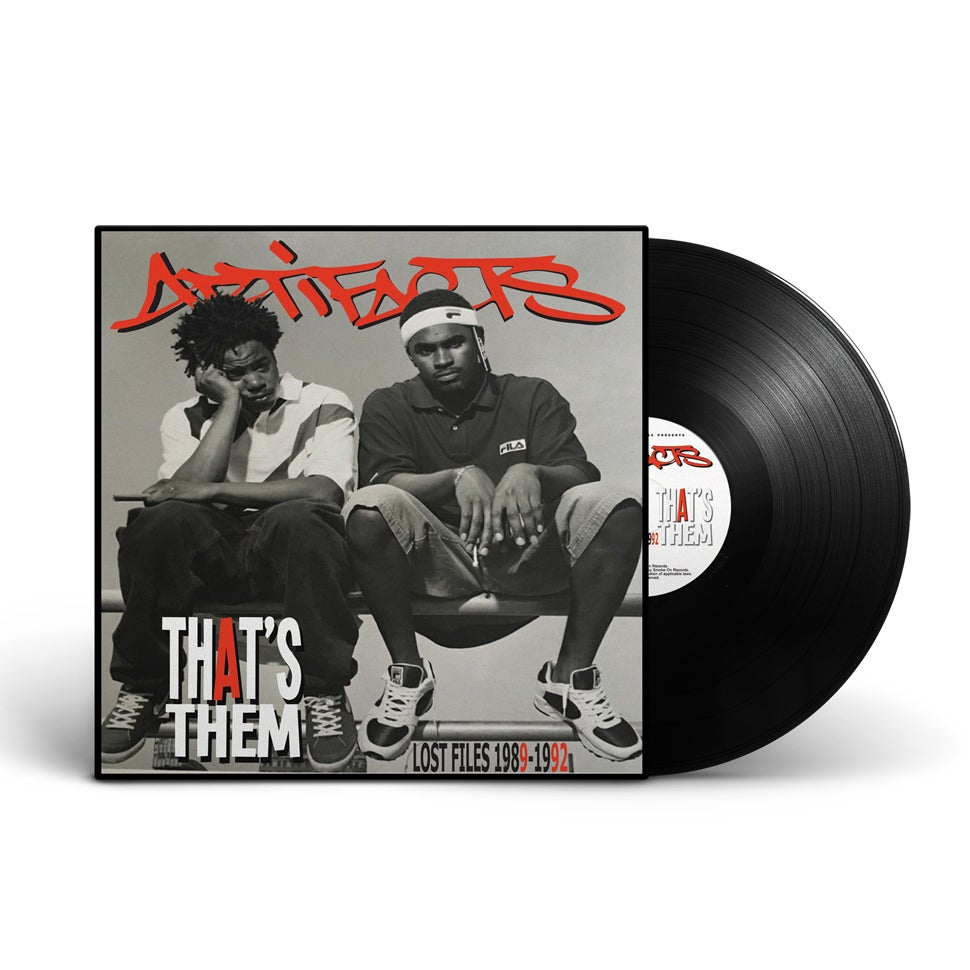 Image of Artifacts - That's Them Lost Files 1989-1992 Vinyl