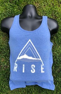 Image of MEN's (Unisex) TRI-BLEND Tank Top - RISE Triangle