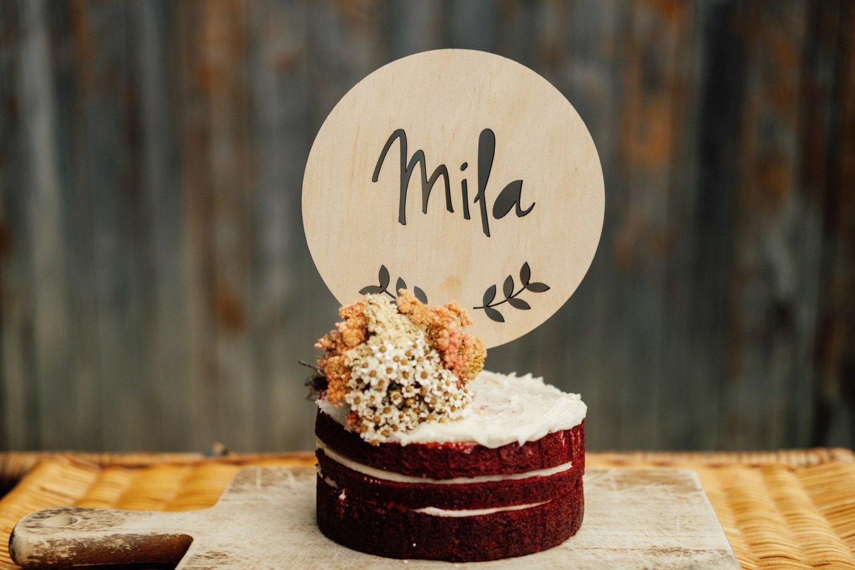 Image of VINE CAKE TOPPER