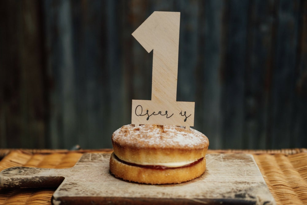 Image of NUMBER CAKE TOPPER