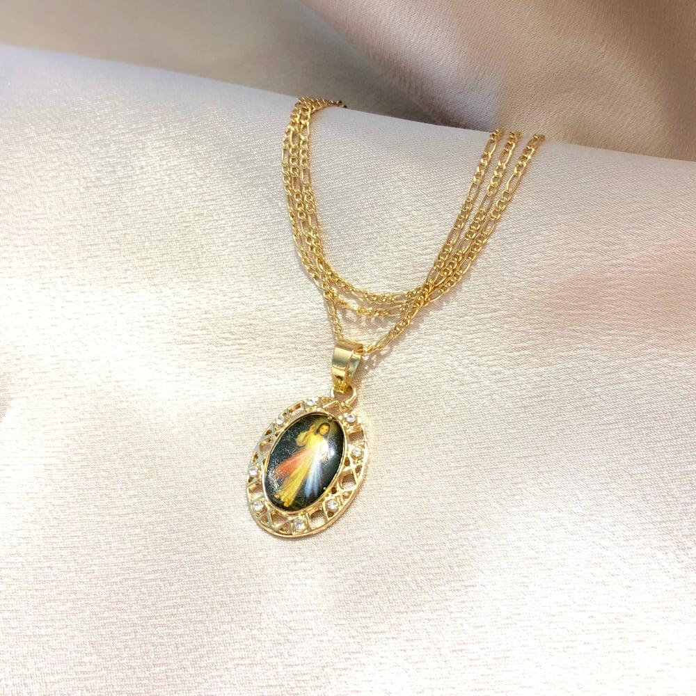 Image of Corazón Sagrado III Necklace
