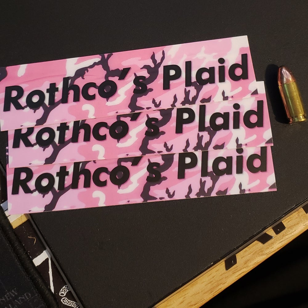 "Image of ""Rothco's Plaid"" - Pink M81"