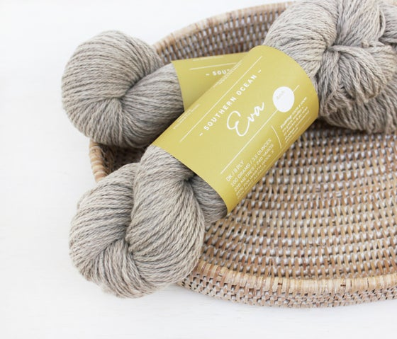 Image of Eva - Polwarth & Alapaca 8ply 100gm