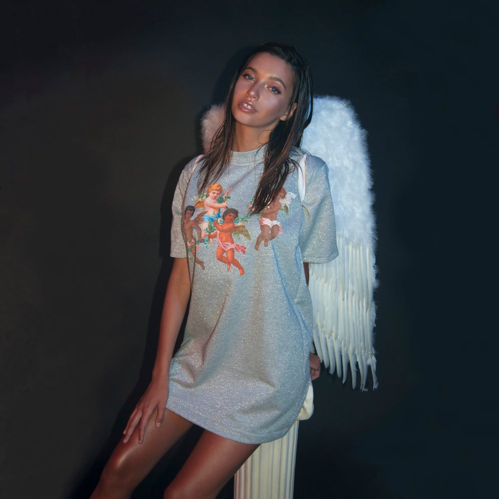 Image of Angel Dust Sparkle Tall Tee
