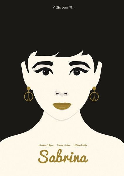 Image of Sabrina - Hepburn Portrait