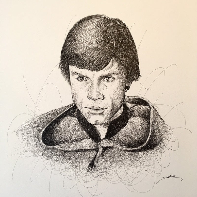 Image of Mark Hamill Doodle