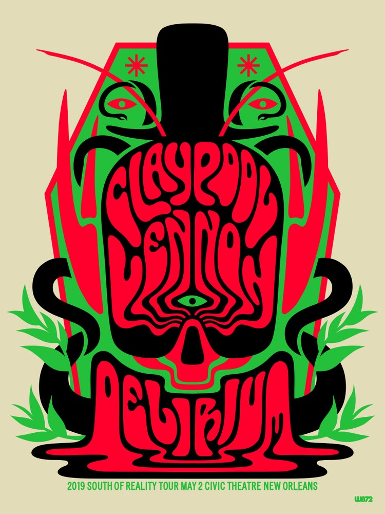 Image of The Claypool Lennon Delirium New Orleans