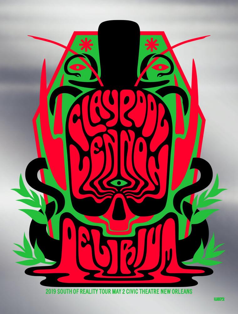 Image of The Claypool Lennon Delirium New Orleans Chrome Mirror Foil