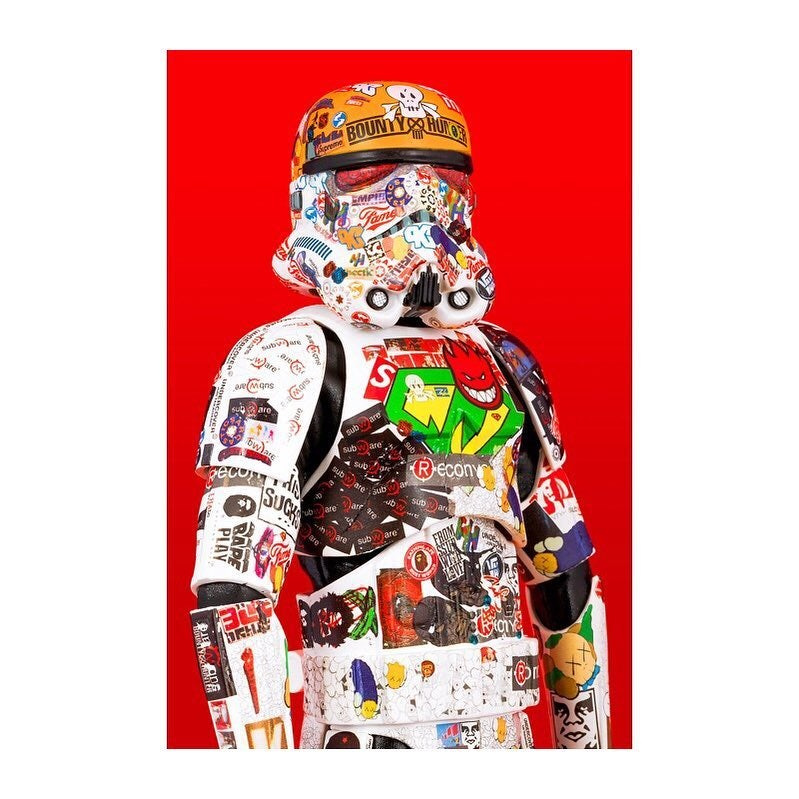 Image of Doze Chaos - HYPED STORM TROOPER - PHOTO PRINT - PreOrder