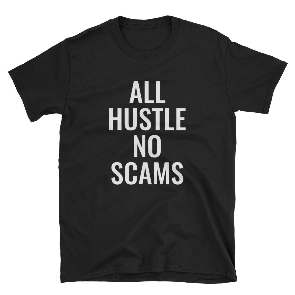 Image of All Hustle - Black & White