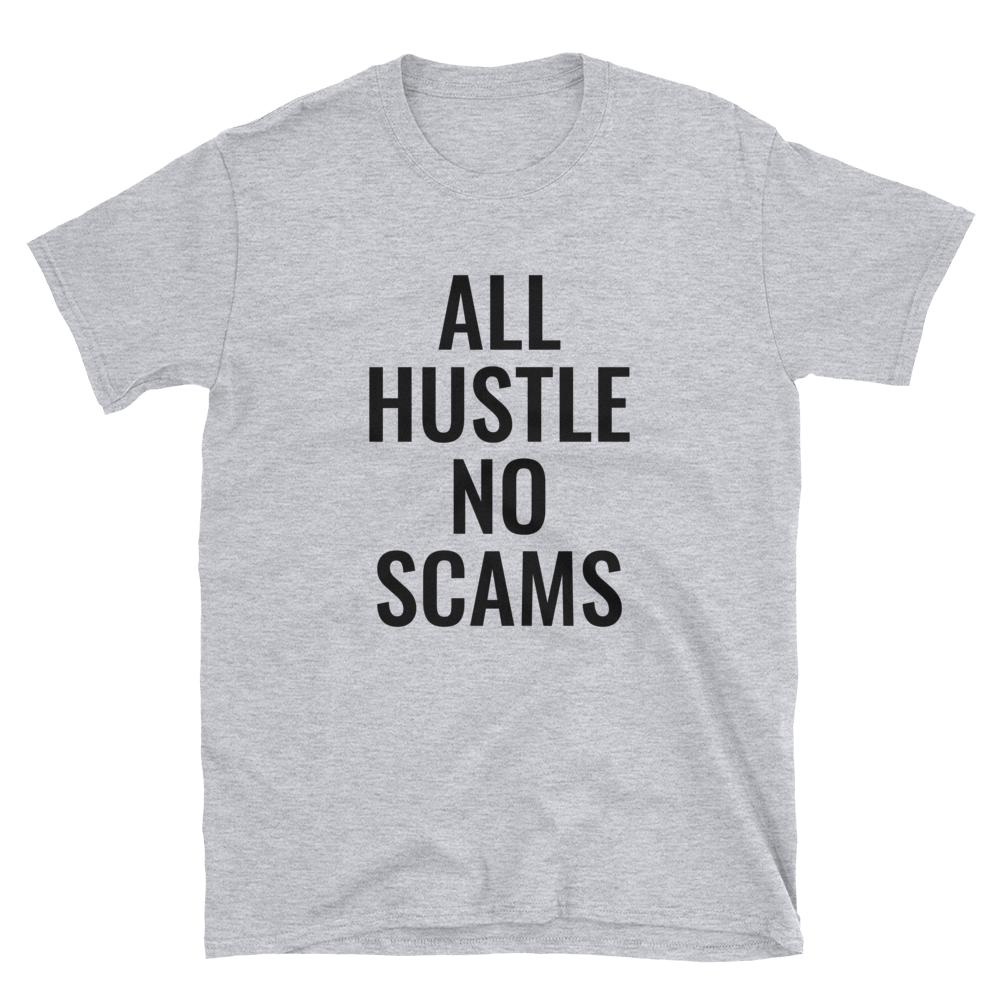 Image of All Hustle - Grey & Black