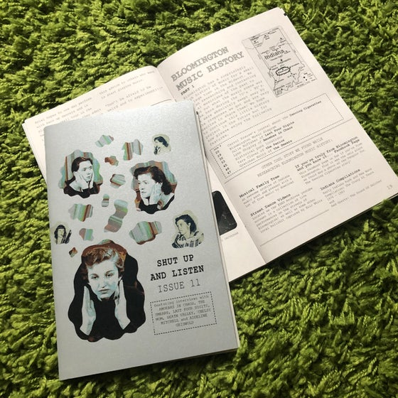 Image of SHUT UP AND LISTEN ISSUE 11