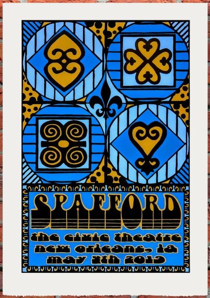 Image of Spafford New Orleans Print 5-4-2019