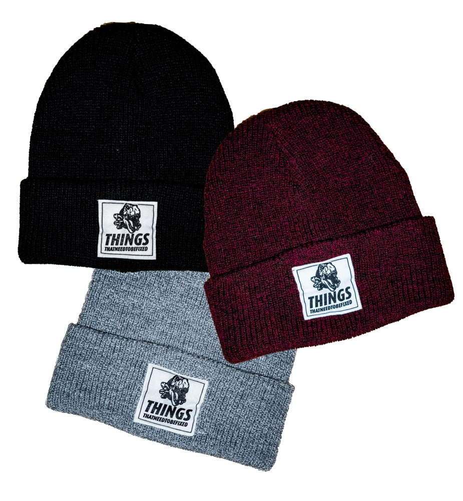 Image of Dino Beanie - One Size