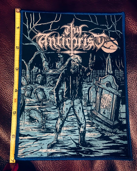 Image of Thy Antichrist - Metal to the Bone Woven Patch