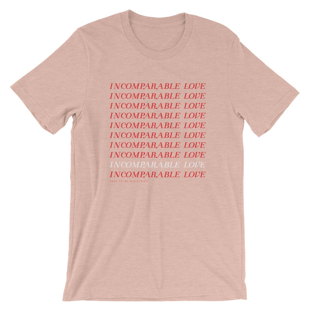 Image of Incomparable Love Blush Tee