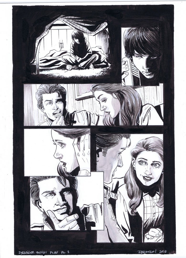 Image of Stranger Things FCBD pg.3