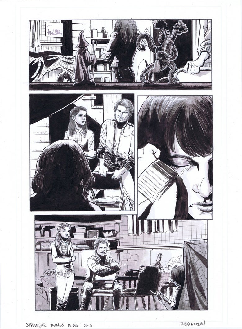 Image of Stranger Things FCBD pg.5
