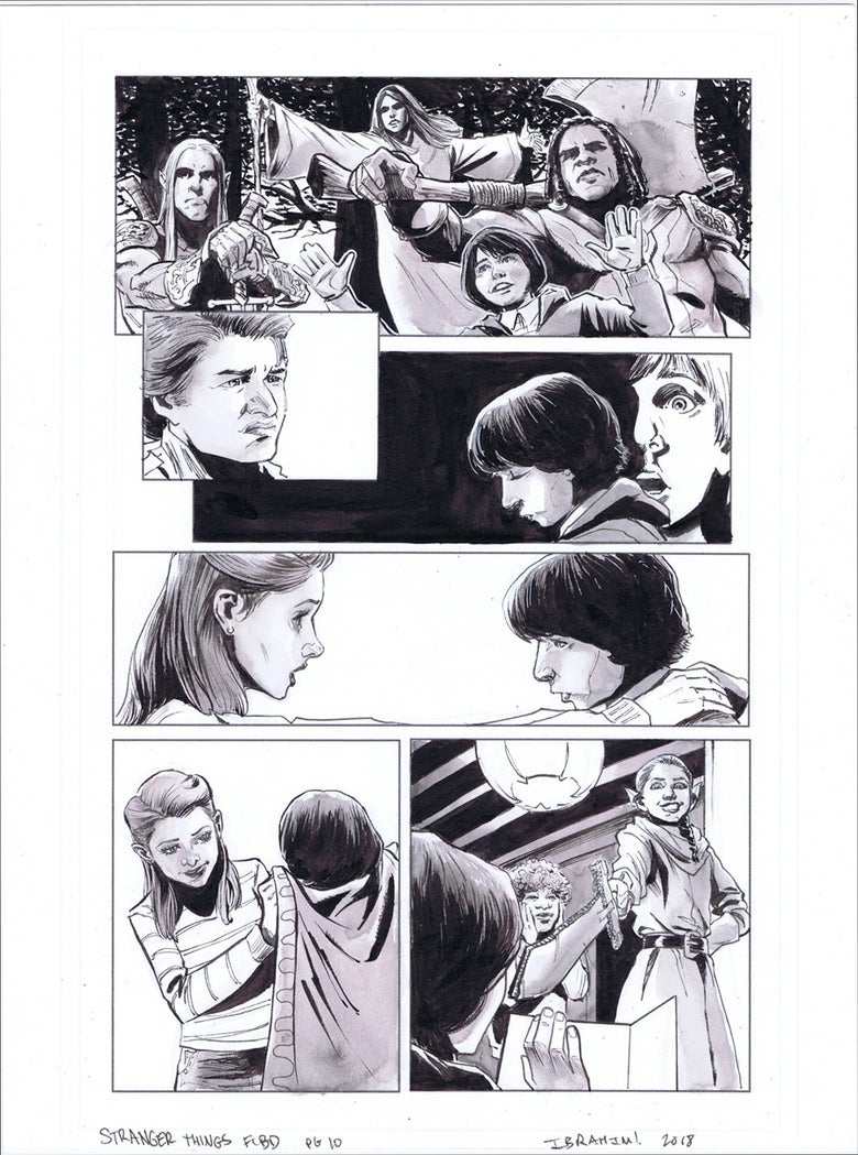 Image of Stranger Things FCBD pg.10