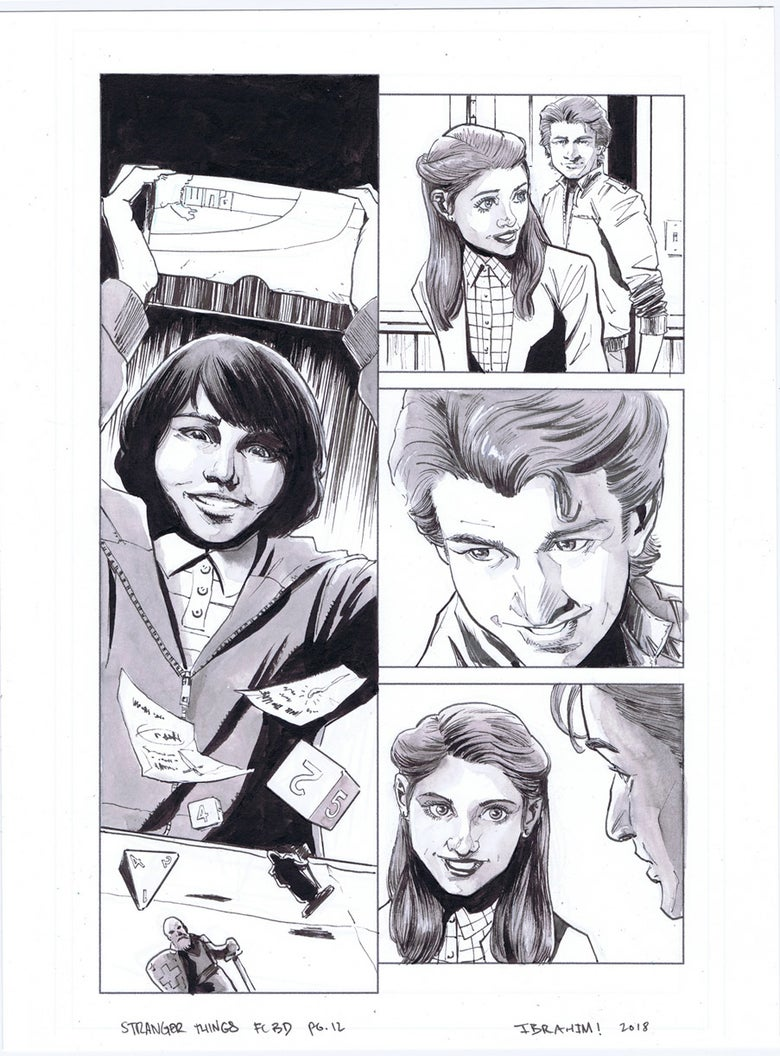 Image of Stranger Things FCBD pg.12