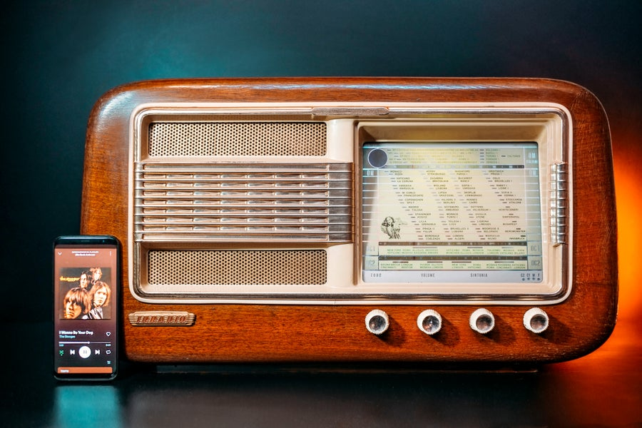 Image of IRRADIO BK24L (1952) RADIO D'EPOCA BLUETOOTH