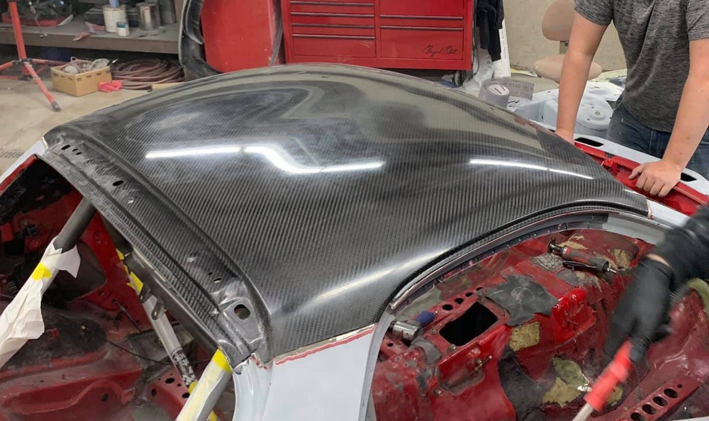Image of RX-7 dry carbon roof