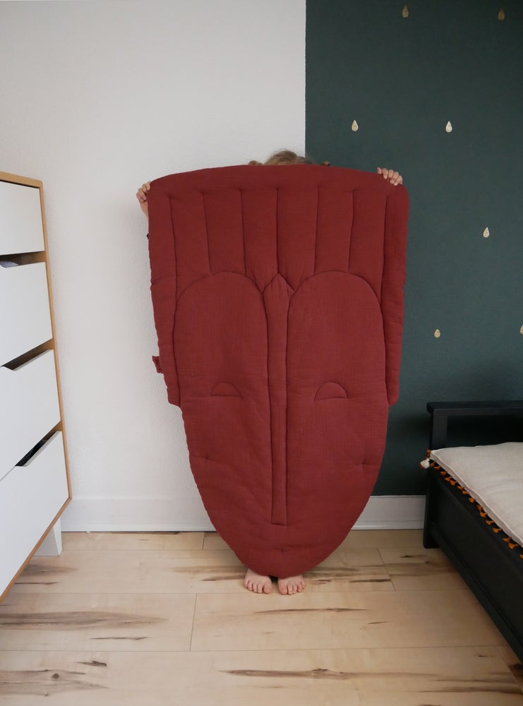 """Image of TAPIS MASQUE  """"tomette"""" / PLAY MAT"""