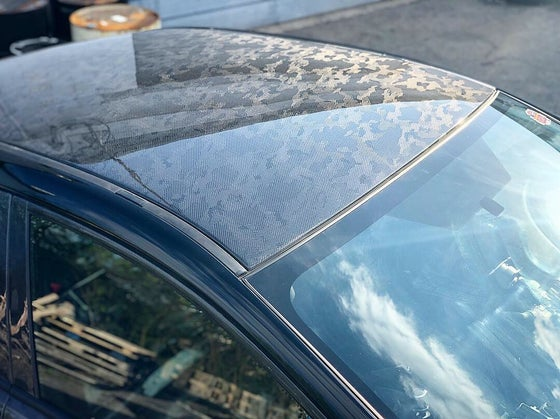 Image of Subaru VA chassis ('15+ wrx/STI) dry carbon roof