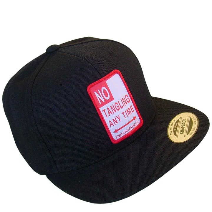 Image of No Tangling Snap Back (black)
