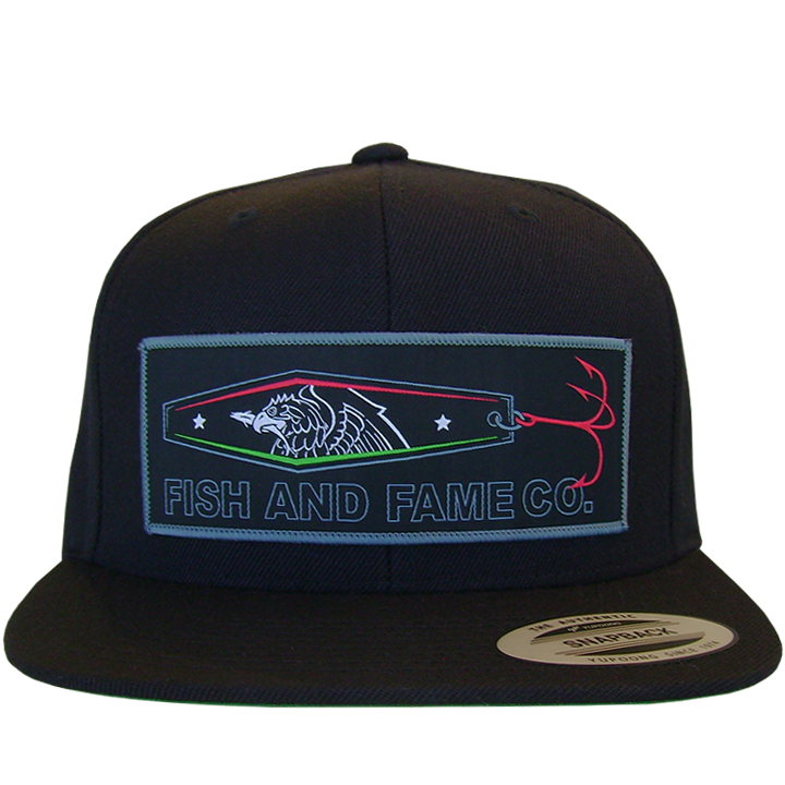 Image of NB JIG Snap Back (black)