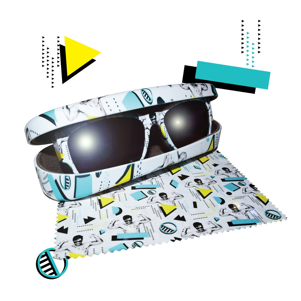 Image of Hustler White Unidentified Collectible N°1 - Shades