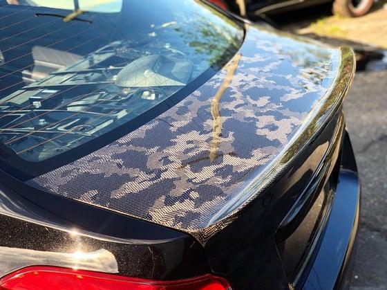 Image of Subaru VA chassis Duckbutt trunk