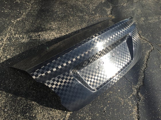 Image of Subaru VA chassis oem style dry carbon trunk