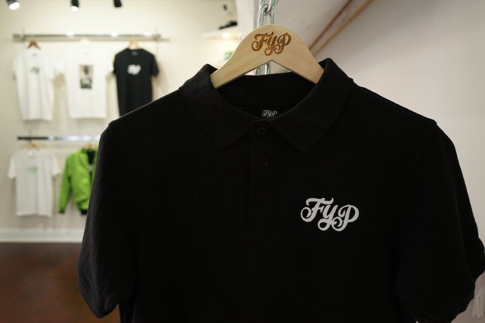 Image of Black Polo OG Shirt