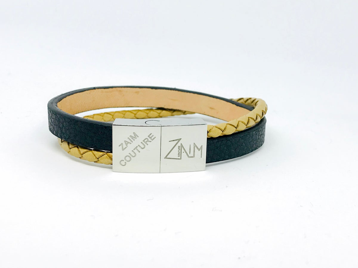 Image of Black/ Gold bracelet