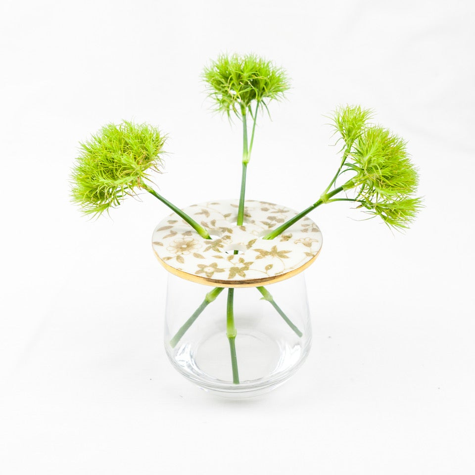 Image of Lily Pad Vase; Rose