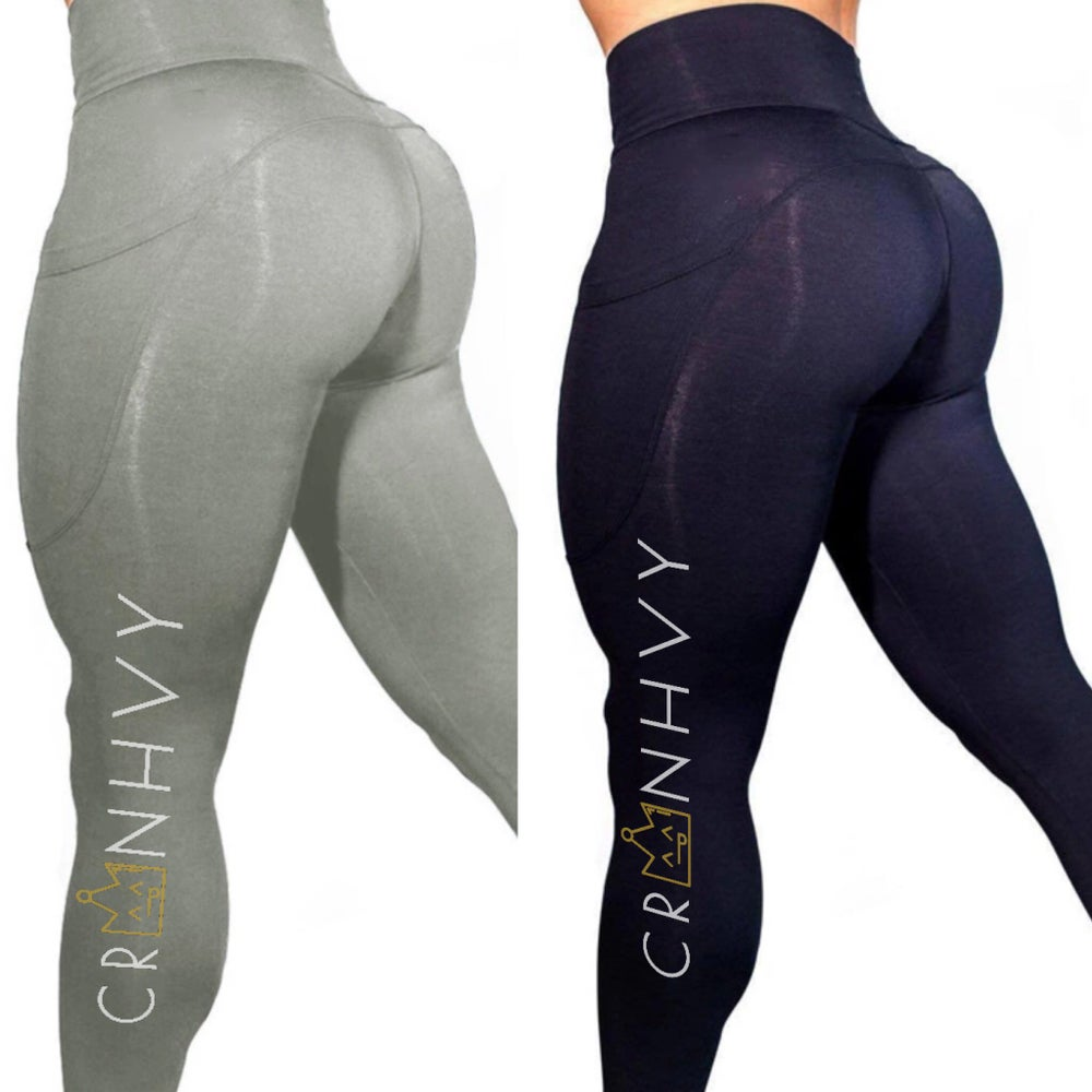 Image of CRWNHVY Outta-Pocket Leggings