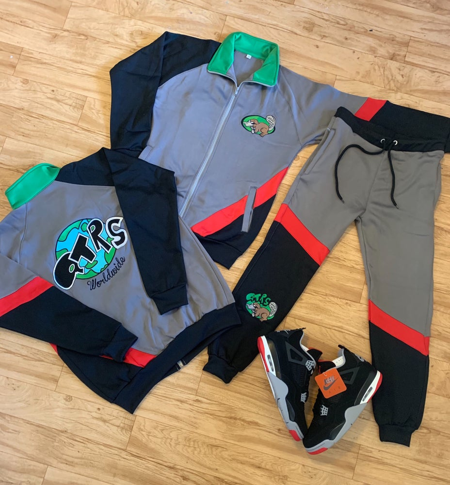 """Image of QTRS """"Catch A Run"""" Track Jackets and Pants"""
