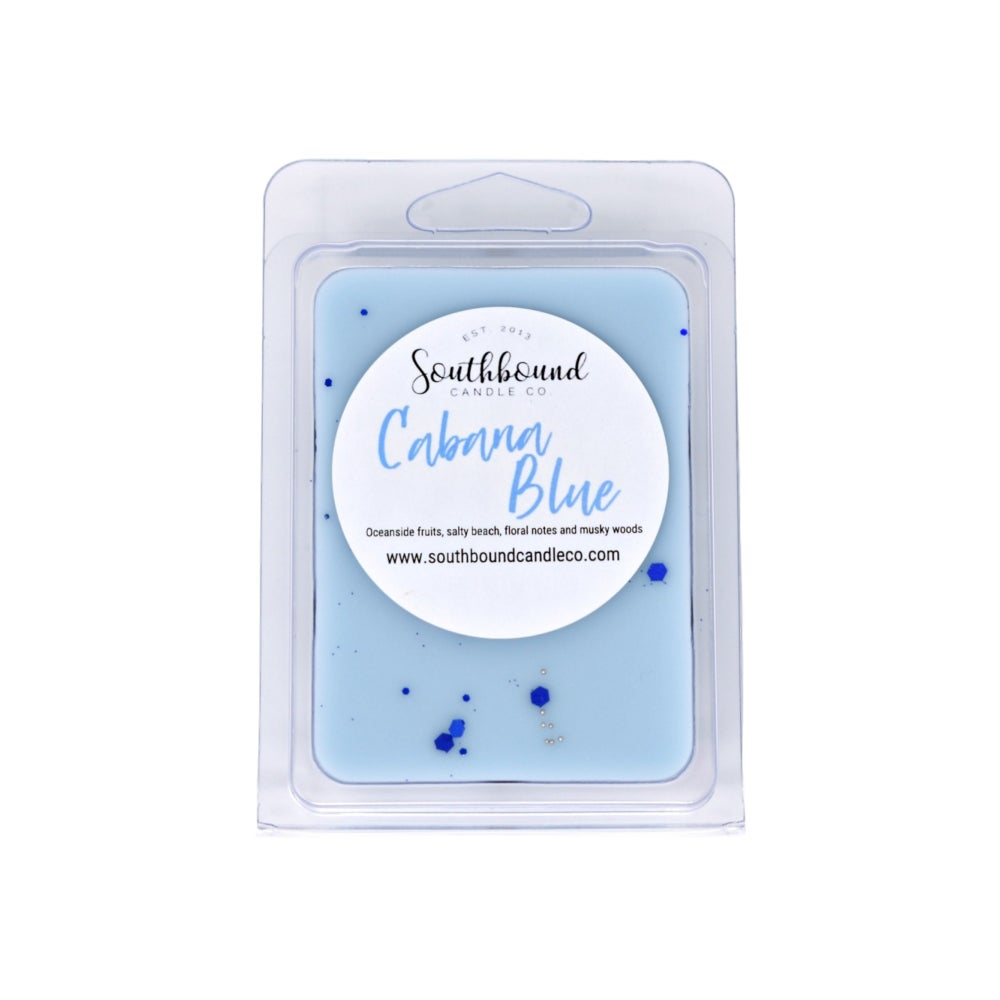 Image of Cabana Blue Wax Melts