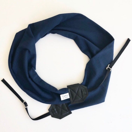 Image of Scarf Camera Strap Knit Stretch Comfy Handmade | Best Photographer Gift 2019