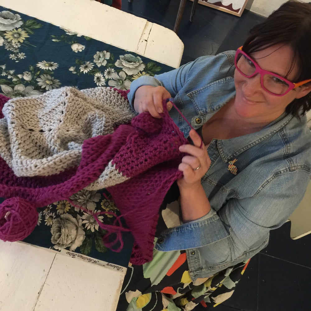 Image of Beginner's Crochet with Janelle Barnes Sun July 21st and Aug 4th