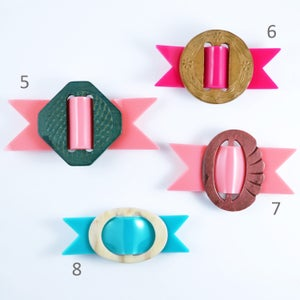 Image of Buckle Brooches 5 to 8