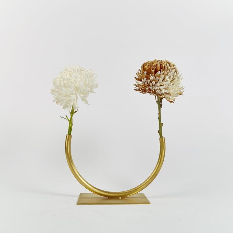 Image of Vase 958 - Glass Half Full Vase