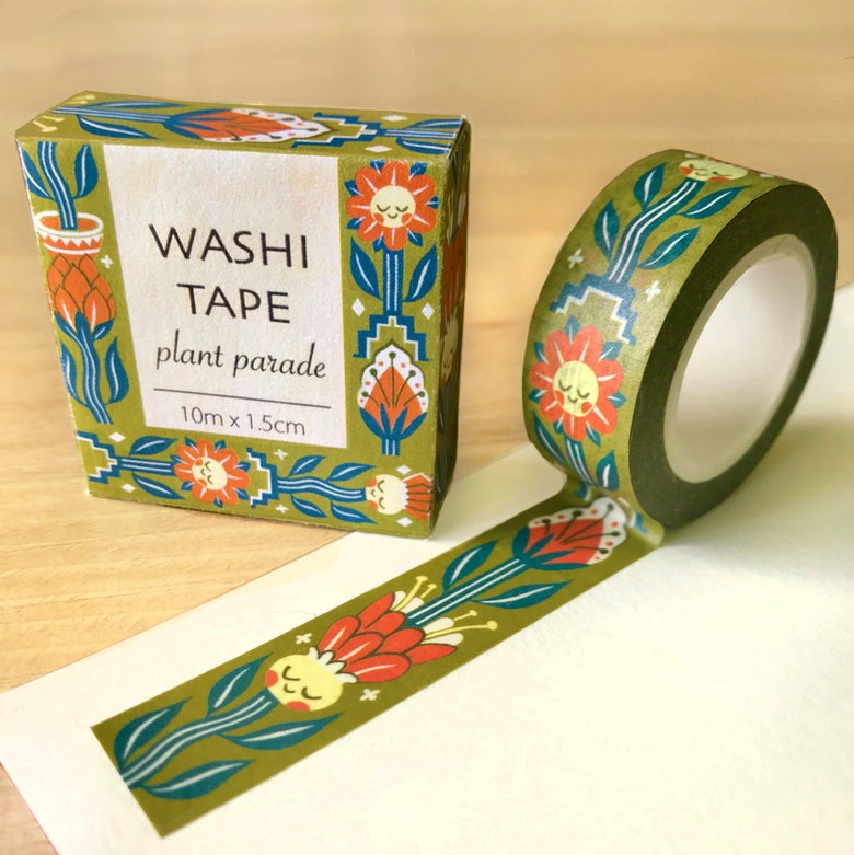 Image of Plant Parade Washi Tape