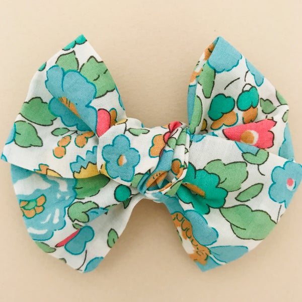 Image of Barrettes & bloomer Liberty Besty vert