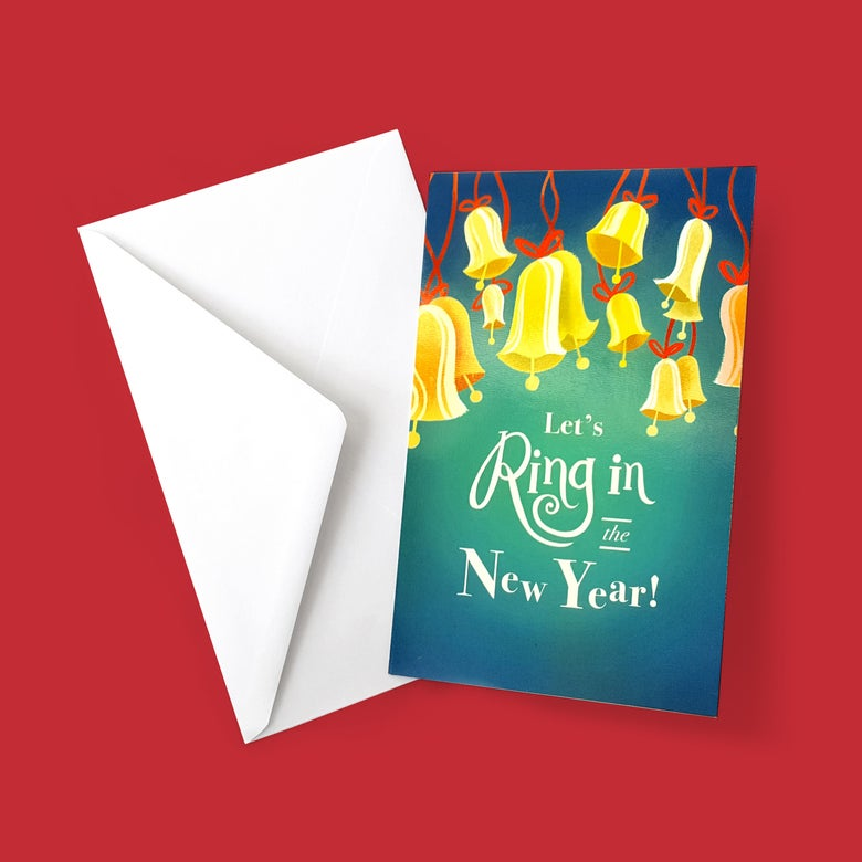 Image of Ring in the New Year! Greeting Card