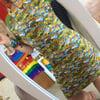 Short Sleeve Raglan Style Dress
